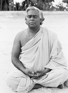 swami vishnu meditating