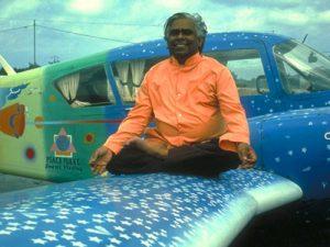 Swami vishnu peace plane